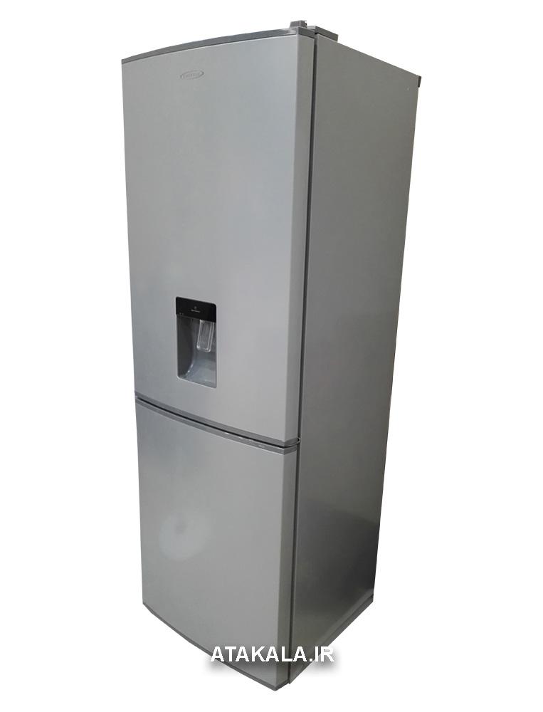 یخچال فریزر امرسان 20 فوت طرح ام نقره ای